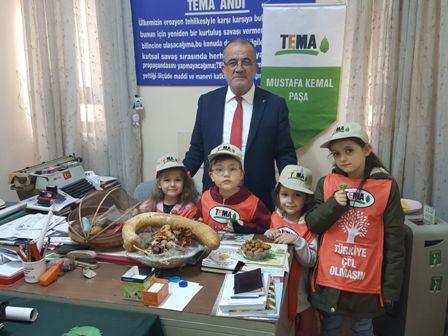 Minikler Mustafakemalpaşa Tema Vakfı'nı Ziyaret Ettiler