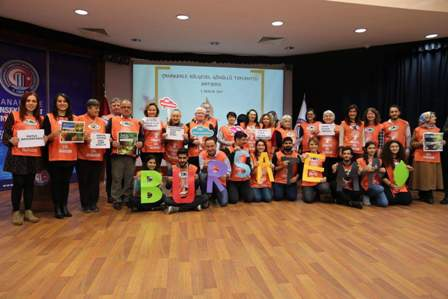 TEMA Gönüllüleri Çanakkale'de bir araya geldi