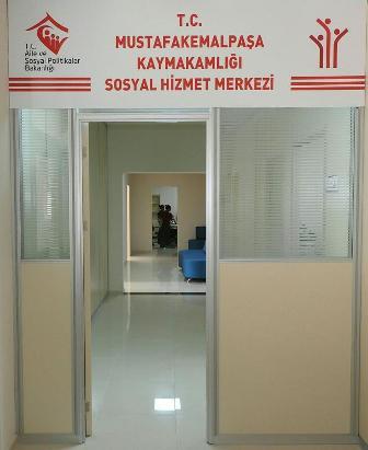 Sosyal Hizmet Merkezi Hizmete Açıldı