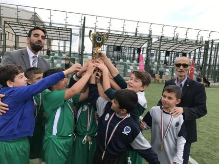 Yunus Emre İlkokulu Futbol Şöleninde Rüzgar gibi esti