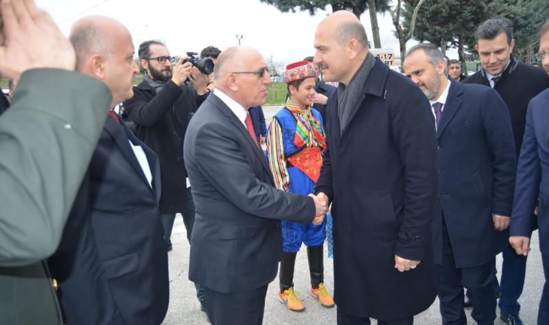 İçişleri Bakanımız Sayın Süleyman SOYLU  Mustafakemalpaşa'da