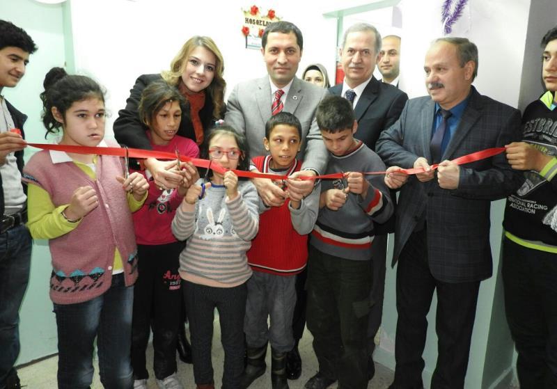 İbn-i Sina Özel Eğitim merkezine el sanatları atölyesi