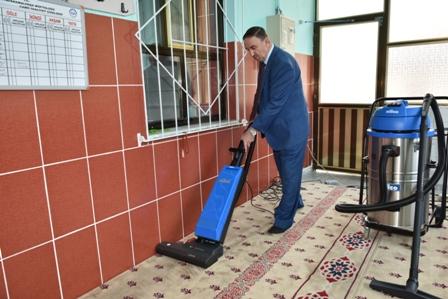 Camiler Kurban Bayram�na haz�r