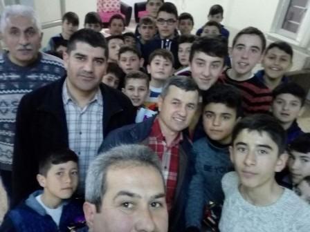 HAKED Eğitim Gönüllülerinden Züferbey Yatılı Bölge Ortaokuluna Ziyaret