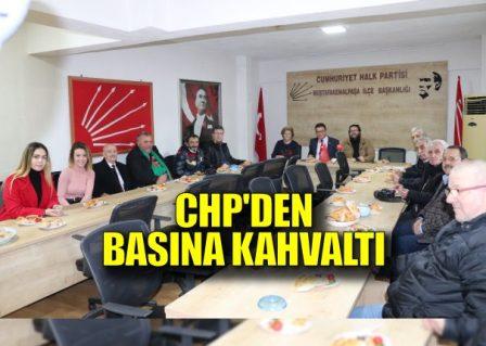 CHP Basın Mensuplarıyla Biraraya Geldi