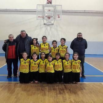 Çimenspor U-11 Basketbol Takımı Farka Koştu