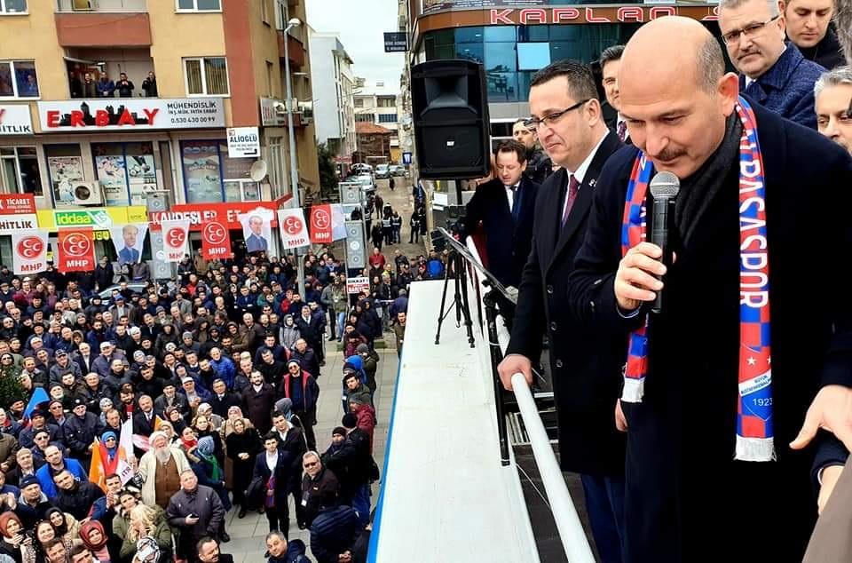 Süleyman Soylu 'Mehmet Kanar Başkanımın Emrindeyim'