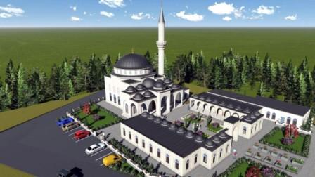 Dere Mahalledeki Dini Külliyenin Temeli Atıldı